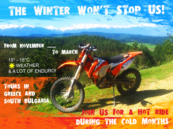 Enduro tour winter